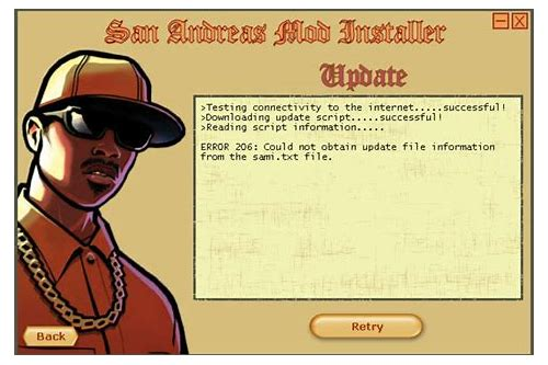 gta san andreas download mod installer