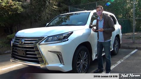 Review Lexus Lx by Review 2018 Lexus Lx 570 The Most Reliable Luxury Suv