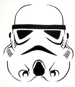 Free Pacman Pumpkin Stencils by Storm Trooper Stencil For Airbrush Tattoo Craft Art Ebay