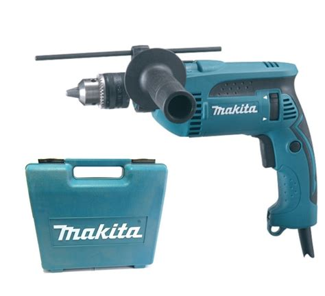 makita hp1640k 5 8 quot 16 mm hammer drill w carrying case 680w gigatools ph