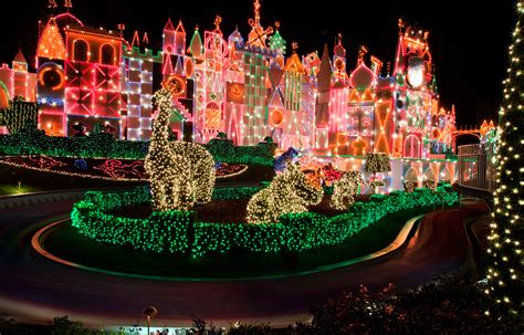 disney parks after dark it s a small world holiday at