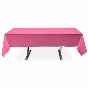 Nappe Pas Cher : nappe rectangle fuchsia prix imbattable 3 99 ~ Teatrodelosmanantiales.com Idées de Décoration