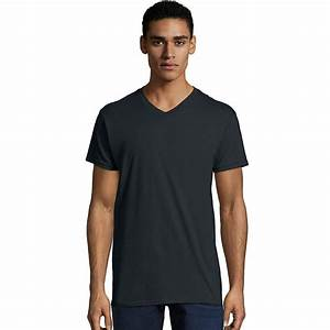 Hanes Hosiery Color Chart Hanes Mens Nano T V Neck T Shirt 498v From 8 73