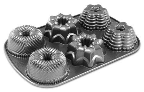 mini bundt pan nordicware platinum series multi mini bundt pan cutlery and more