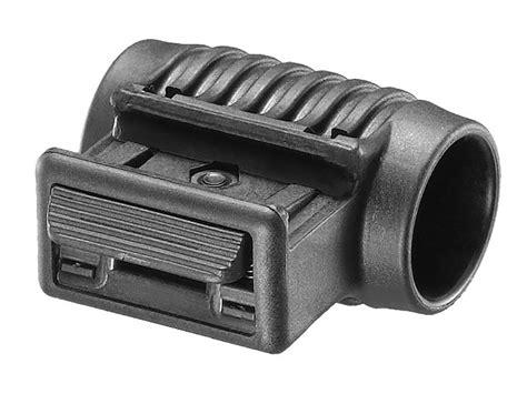 tactical rail light fab defense tactical picatinny rail side flashlight mount