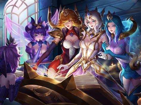 Elementalist Animated Wallpaper - elementalist skin league of fan