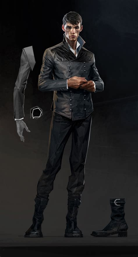 The Concept Art Behind Dishonored 2s Menacing Characters