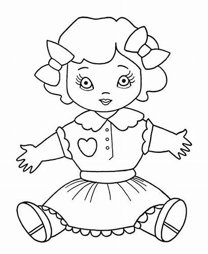 Doll Coloring Pages Barbie Colouring Ken Getcolorings
