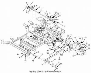 Scag Spz52-22fx Patriot  S  N M2400000-m2499999  Parts Diagram For Brake Components