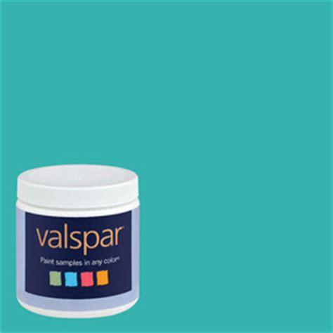 shop valspar 8 oz paint sle turquoise tint at lowes
