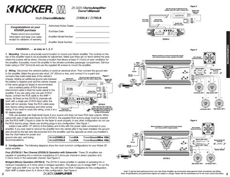 Wiring Diagram For Kicker Impulse Channel Amp