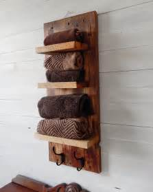 relaxing bathroom ideas rustic bathroom shelves with hooks designs by