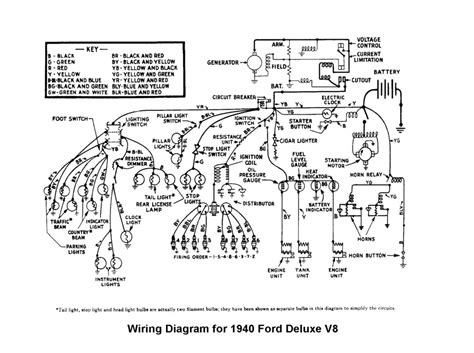 1946 Dodge Wiring Diagram by 1940 Ford Headlight Question The Ford Barn