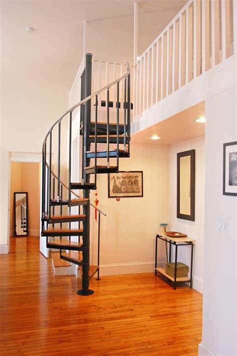 spiral staircase for loft boston lofts advisors living