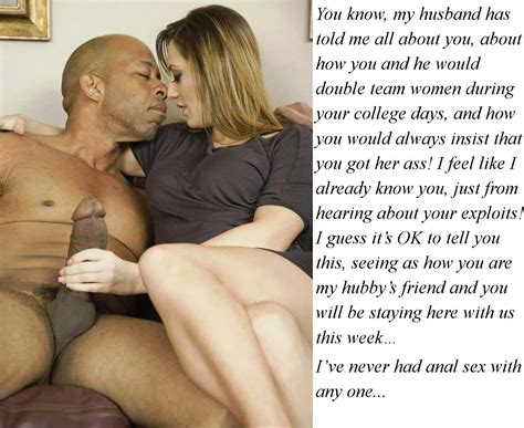 Cuckold Captions 217 Wife Wants A Black Man Or Men