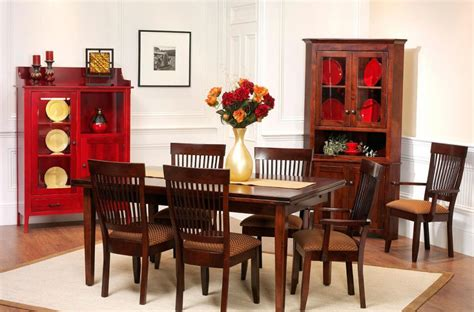 Monmouth Shaker Dining Set  Countryside Amish Furniture