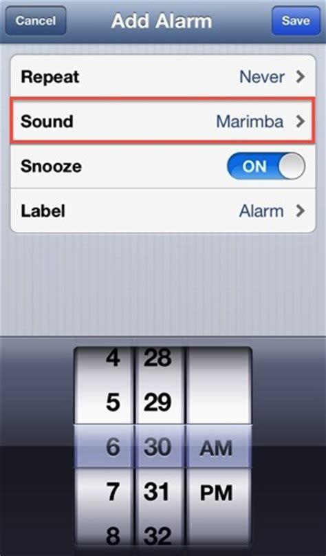 iphone alarm sound image gallery iphone alarm clock