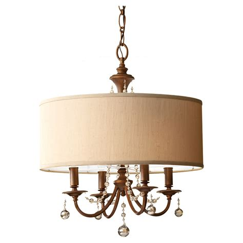 shades of light chandeliers clarissa drum shade chandelier by feiss f2727 4fg