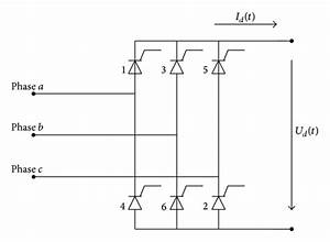 The Principal Wiring Diagram Of Single Bridge Rectifier