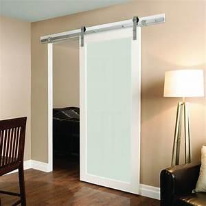 winsoon 5 16ft sliding barn door hardware single door With 5 ft barn door track