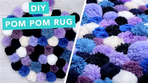 Pom Pom Rug by Diy Pom Pom Rug Diy Home Decorating Ideas Pom Pom
