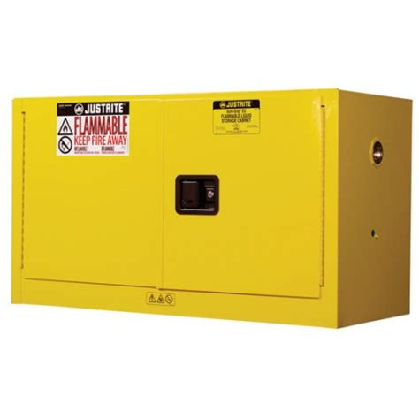 justrite 896000 sure grip ex flammable safety cabinet 60