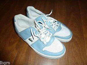 LACOSTE *THRILL PUNCH* SNEAKERS/TENNIS SHOES - BLUE/WHITE ...