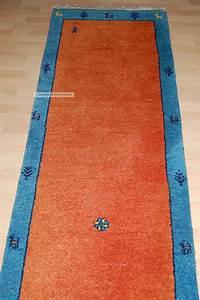 Teppich Läufer Rot : ikea gabbeh teppich 300x80cm orientteppich l ufer galerie rot blau ~ Frokenaadalensverden.com Haus und Dekorationen