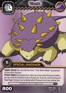 Image - Saichania - Tank TCG Card 1-DKTB.JPG - Dinosaur King