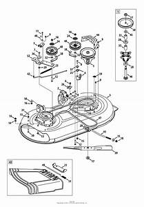 30 Diagram For Craftsman Lawn Mower Deck