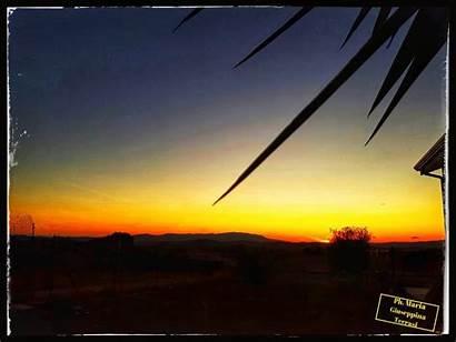 Sunset Landscape Sicily Sky Aborra Tk Nature