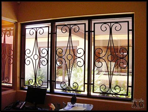 facts  wrought iron security bars allied gate