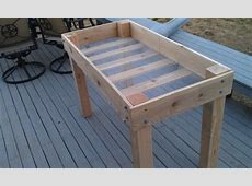 Raised Garden Beds With Legs How To Build Flower