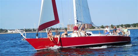 Newport Boat Tours by Sailing Tours Sunset Cruises In Newport Ri