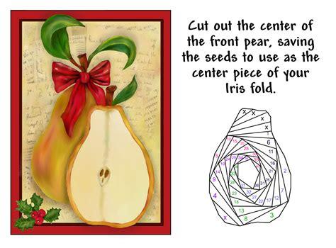 lucines iris folding