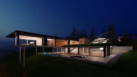 lumion  rendering tutorials  minimalist modern eco house  warehouse youtube