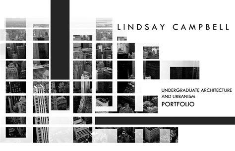 Undergraduate Architecture And Urbanism Portfolio By