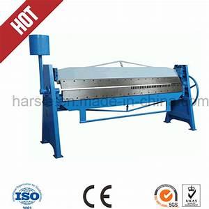 China Manual Sheet Metal Folding Machine For Duct Forming