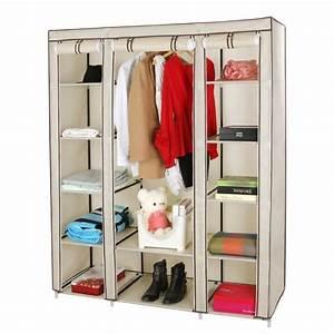 Rangement Chaussures Penderie : meuble penderie garde robe etagere pour chaussures ~ Premium-room.com Idées de Décoration