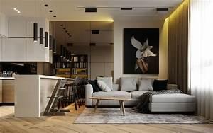 Contemporary, Apartment, By, Prosvirin, Design