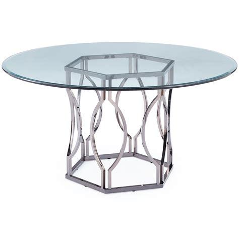 mercer viggo  glass dining table reviews wayfair