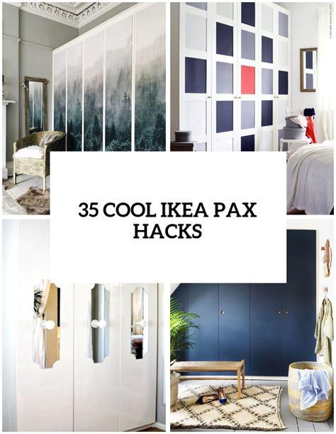 Pax Kleiderschrank Beispiele by 35 Ikea Pax Wardrobe Hacks That Inspire Alrio Alrio Info