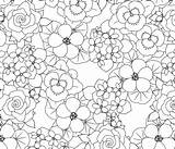 Flowers Lark Contest Coloring Edible Spoonflower Fabric sketch template