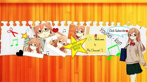 anime youtube channel art my youtube channel art by aratahideyoshi on deviantart