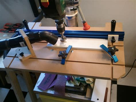 diy drill press table plans  woodworking
