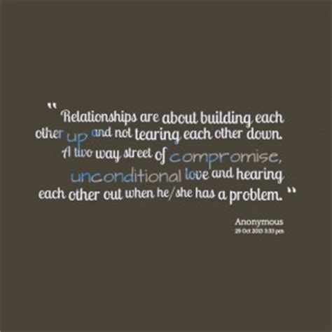 Build Each Other Up Quotes