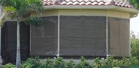 fabric storm panels hurricane protection   home