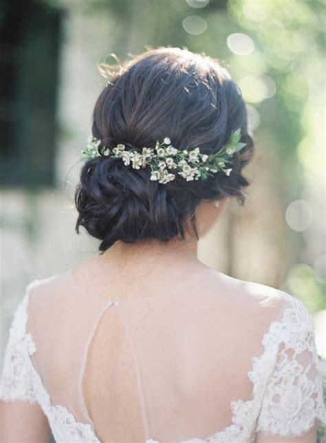 Best 25 Flower Hair Ideas On Pinterest Wedding Hair And