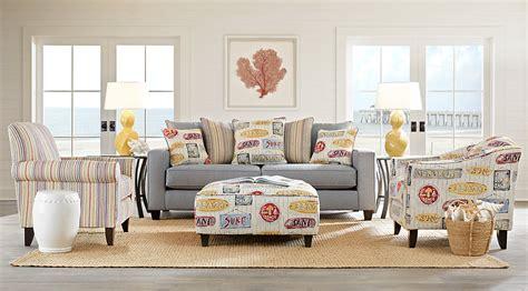 blue gray yellow living room furniture ideas decor