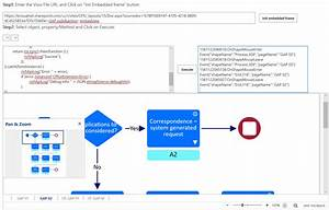 Triggering Shape Mouse Enter And Leave Javascript Events In Visio Online
